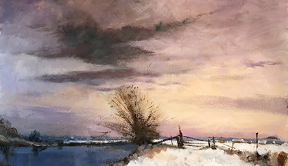Winter Snow (After Seago)
